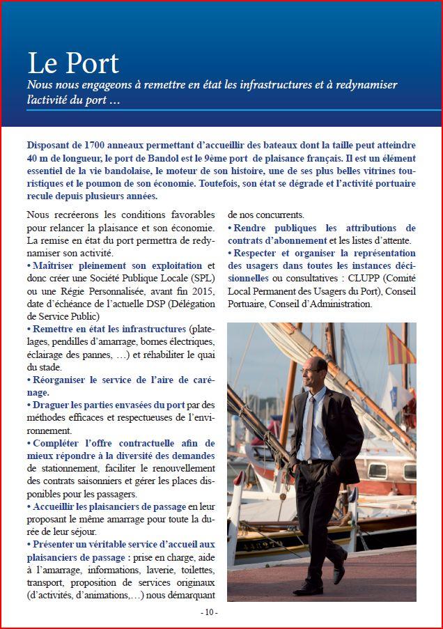 Programme port VVB
